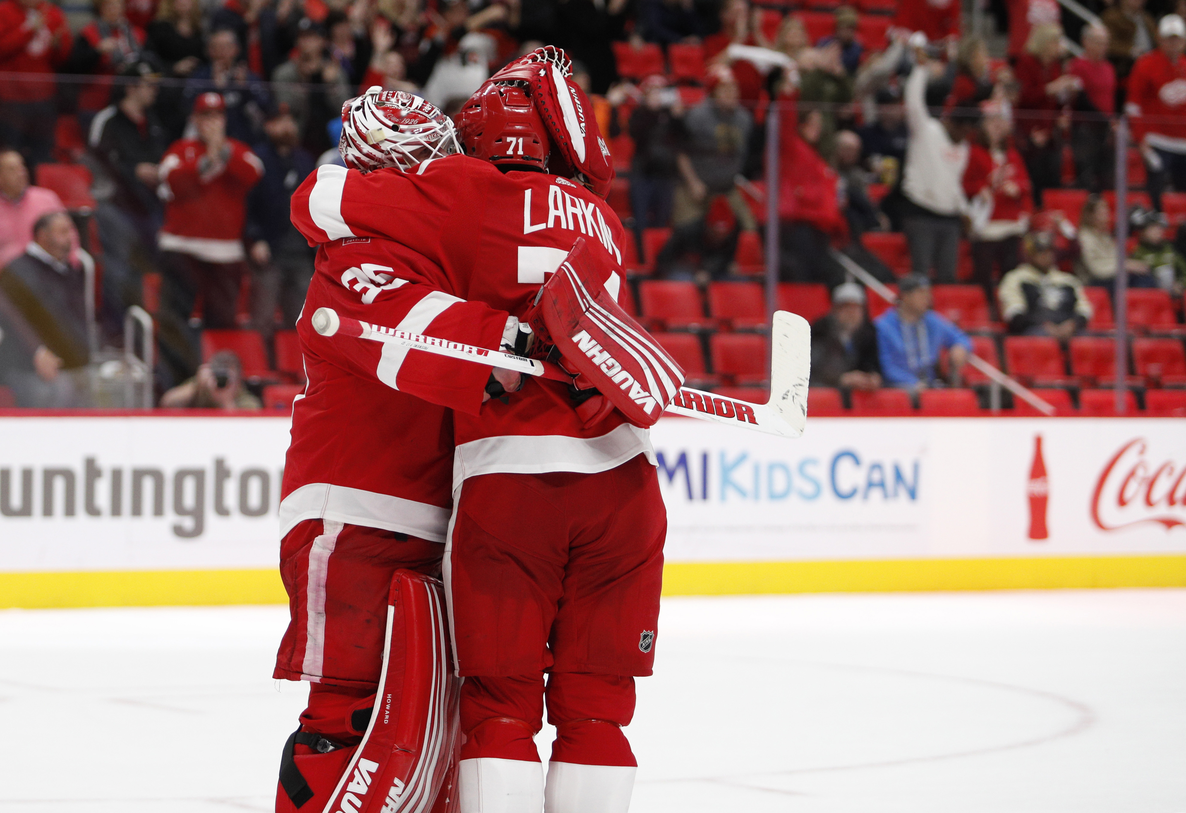 Red Wings late season news update