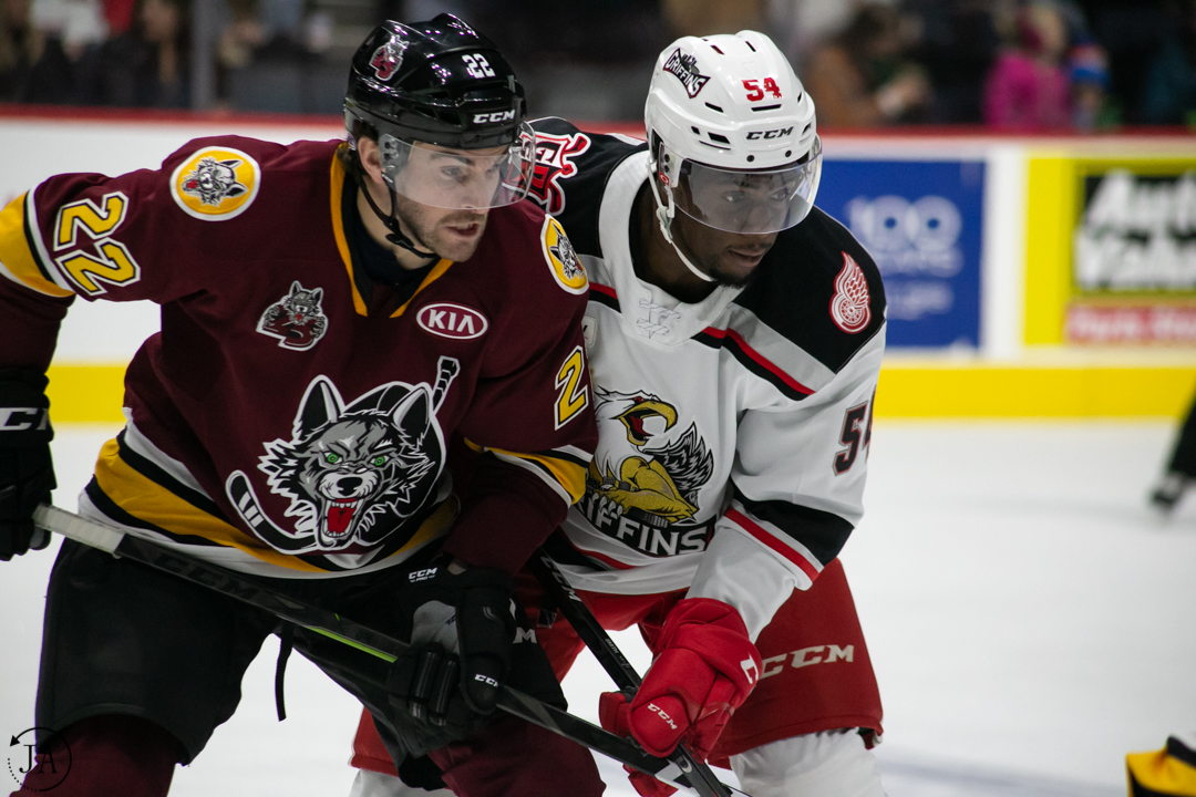 Givani Smith, Detroit Red Wings, Grand Rapids Griffins