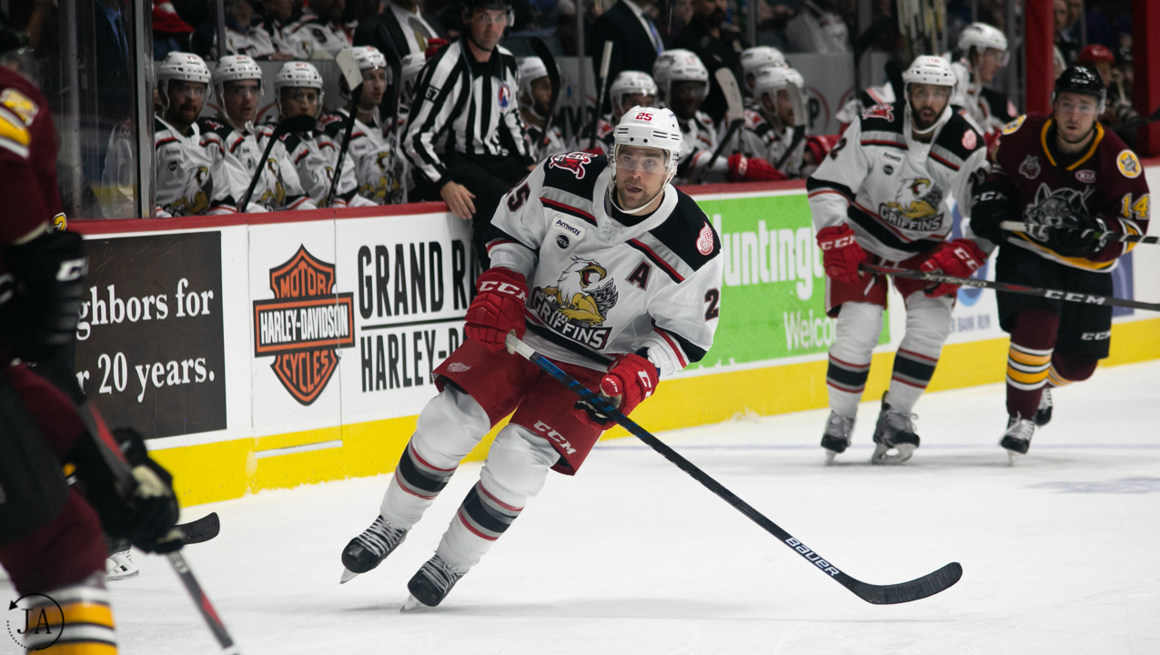 Chris Terry, Grand Rapids Griffins