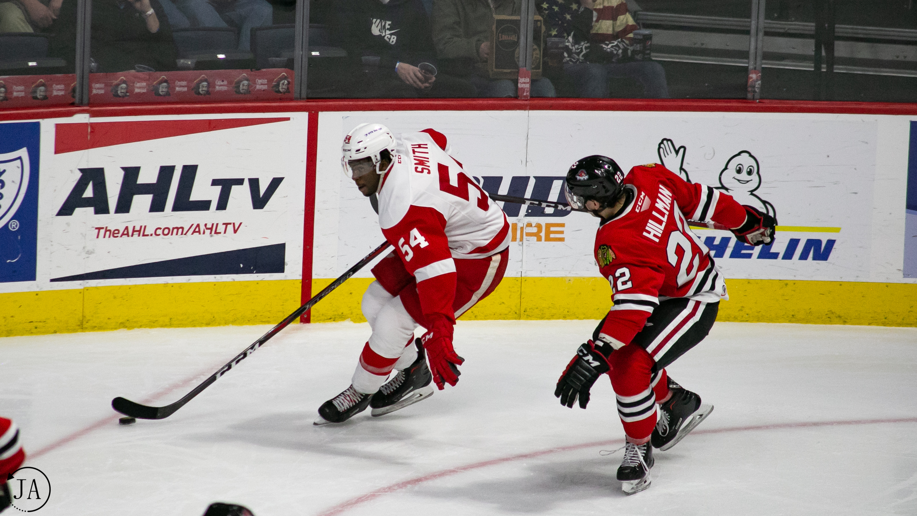Givani Smith, Grand Rapids Griffins
