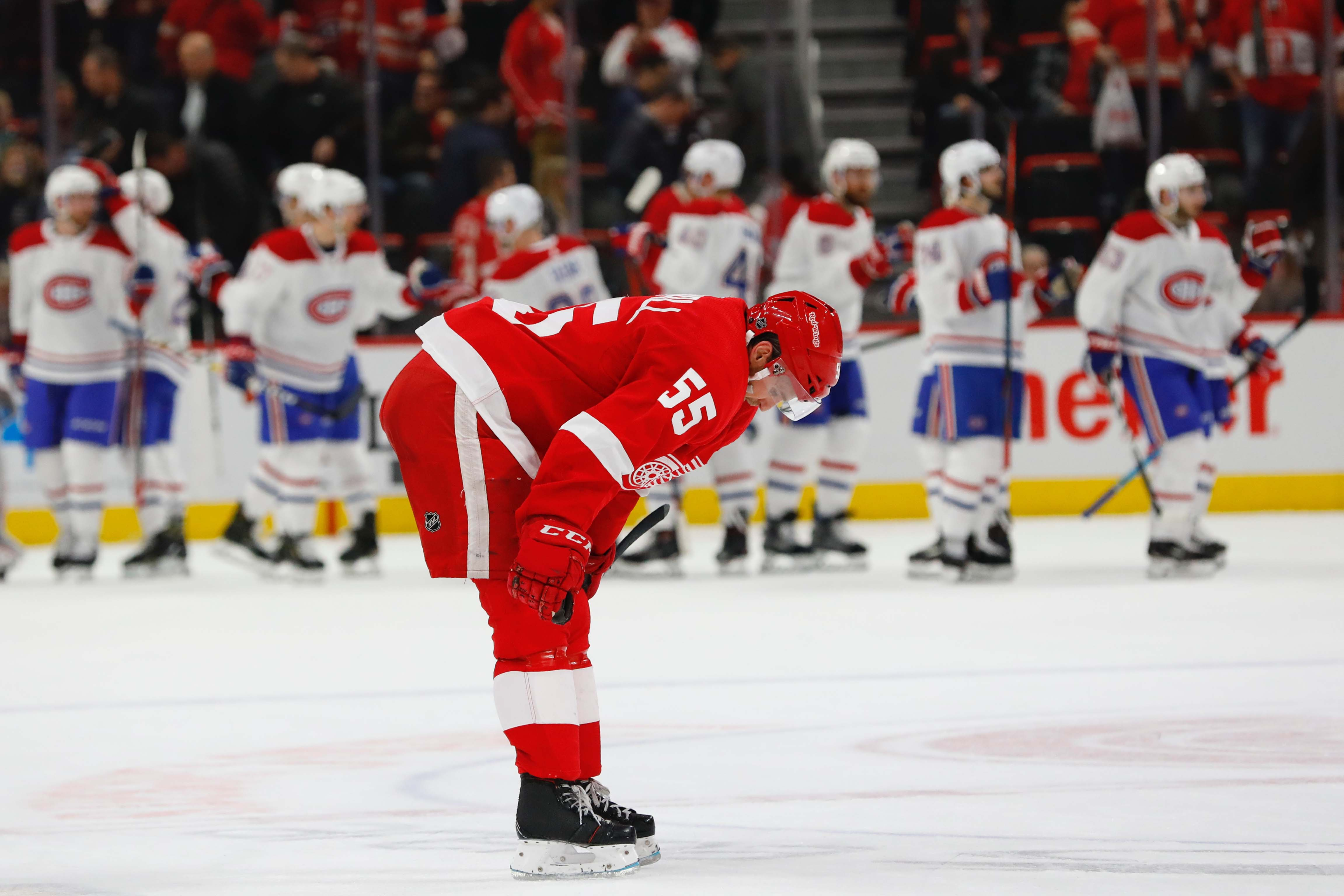 WINGS POST-GAME: Habs Fill Our Net With Lots Of Pucks in 8-1 Loss