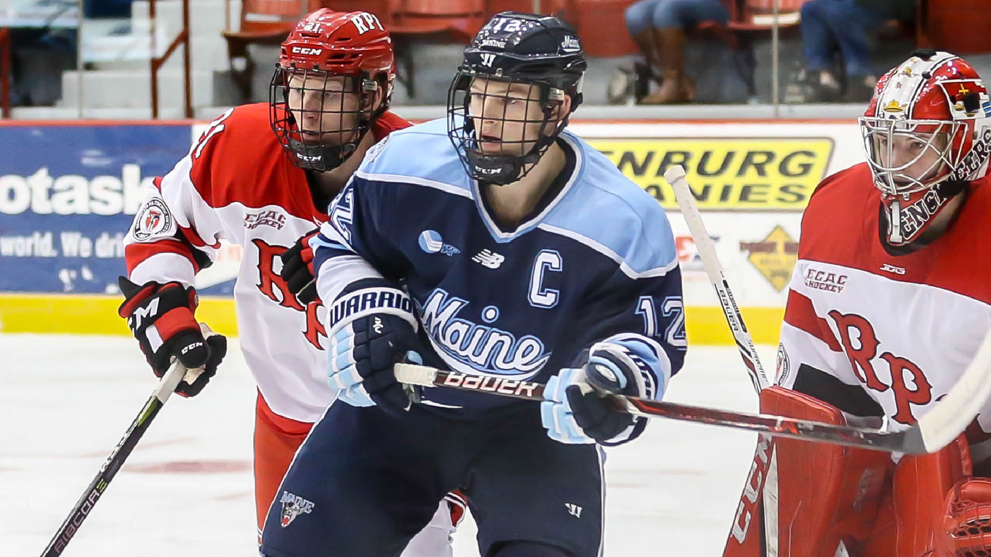Red Wings Sign Center Chase Pearson From Maine